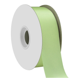 Mint Single Face Satin Ribbon 38mm x 50m