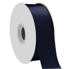 Navy Blue Single Face Satin Ribbon 38mm x 50m