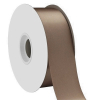 Chocolate Single Face Satin Ribbon 38mm x 50m