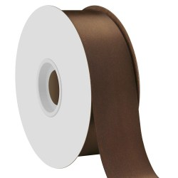 single-face-satin-ribbon-38mm-brown