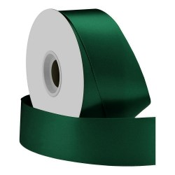 single-face-satin-ribbon-38mm-forest-green-