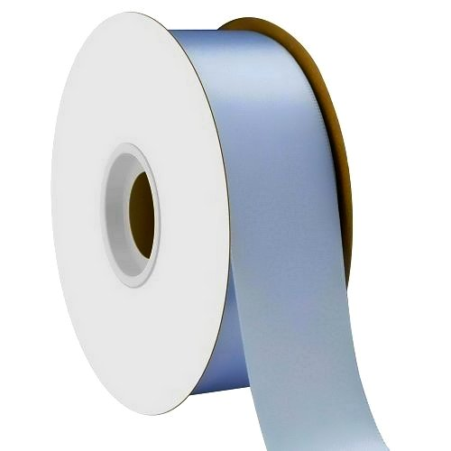 Light Blue Single Face Satin Ribbon 38mm x 50m